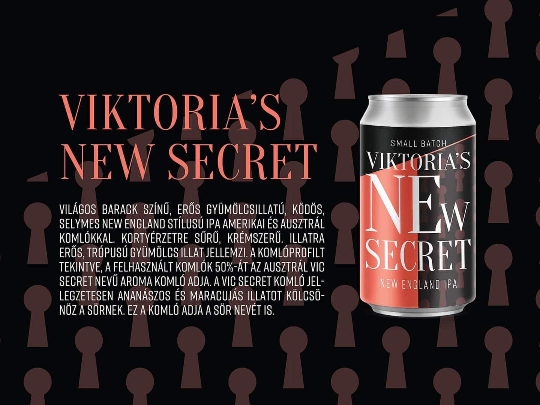 470e886b12 Új sör – csapokon a FIRST Viktoria's NEw Secret | NEIPA